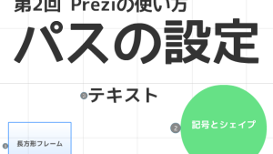 【初心者必見】第2回 Prezi/プレジの使い方「パス」の基礎